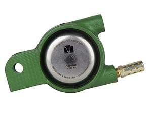 Foundry match plate vibrator