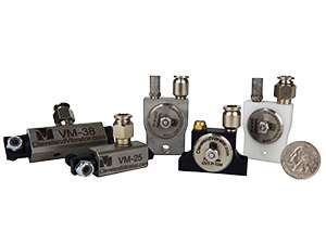 Miniature Pneumatic Piston and Turbine Vibrators - Cleveland Vibrator Company