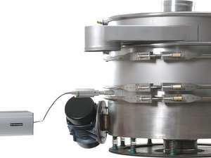 Fine Mesh Ultrasonic Vibratory Sieves and Screeners - HK Technologies